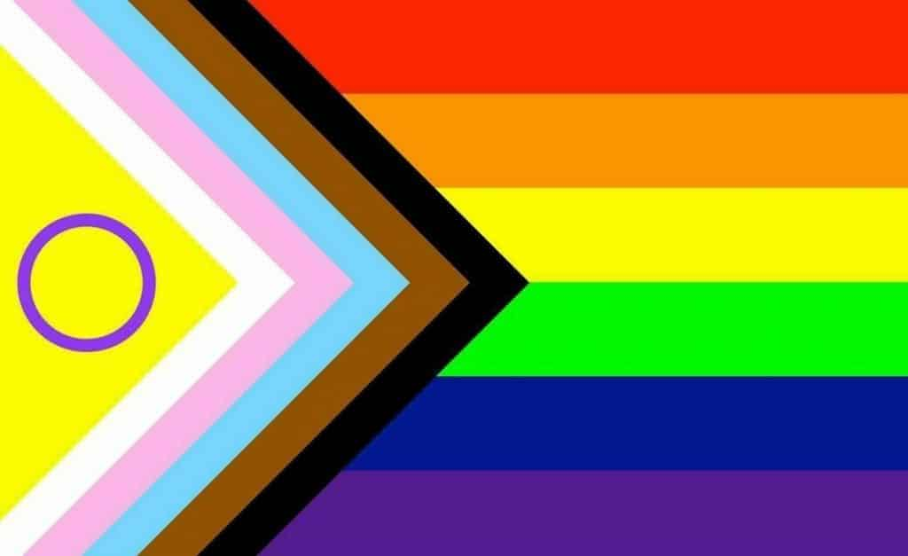 progressive inclusive LGBTQIA flag